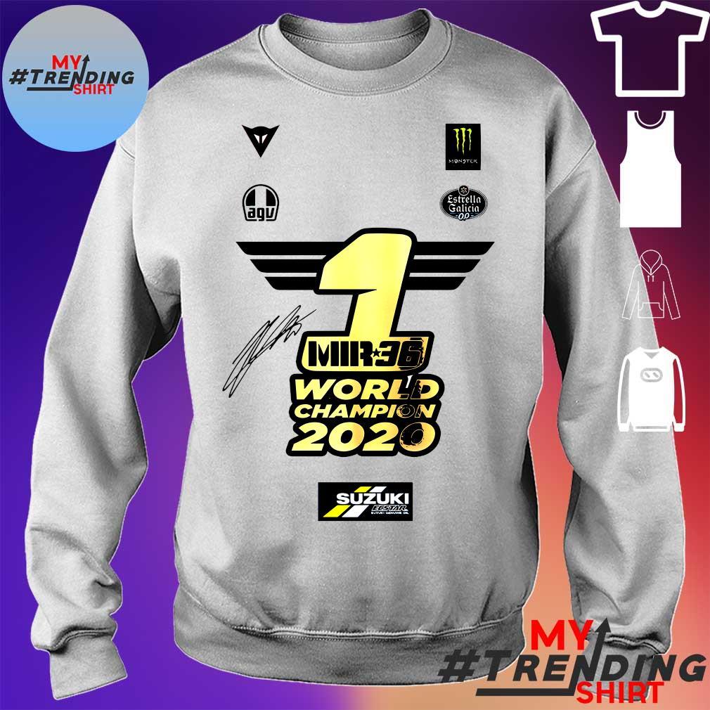 1 Mir 36 World Champions 2020 Suzuki s sweater
