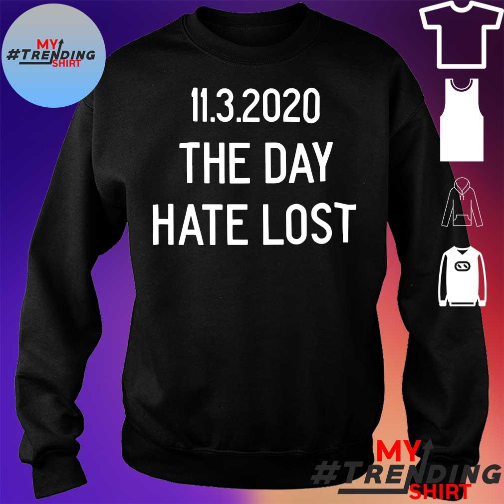 11.3.2020 the day hate lost s sweater