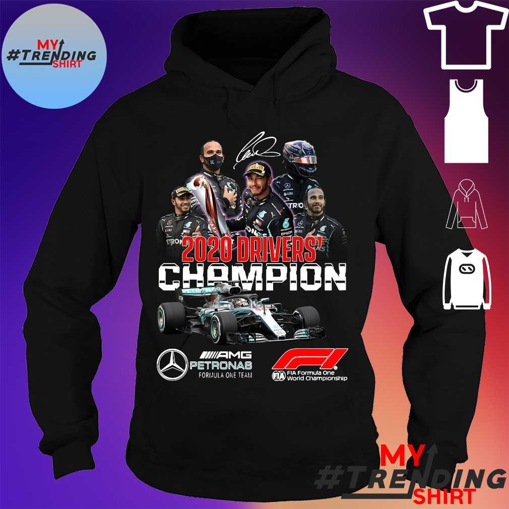 2020 Drivers Champions AMG Petronas signature s hoodie