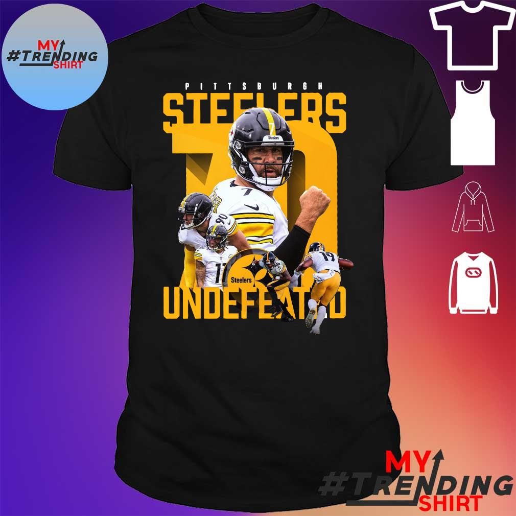 Pittsburgh Steelers Player Undefeated Shirt