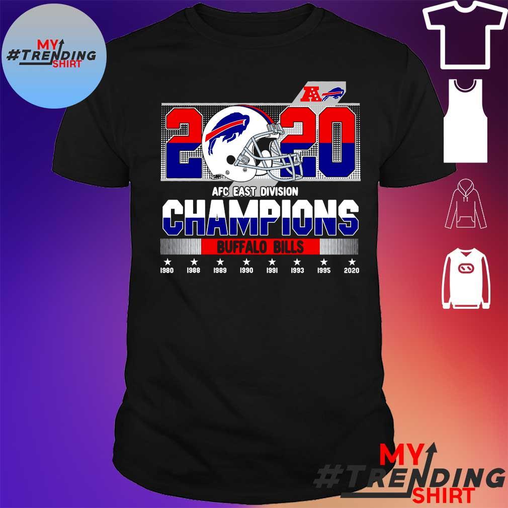 2020 AFC East Division Champions Buffalo Bills shirt