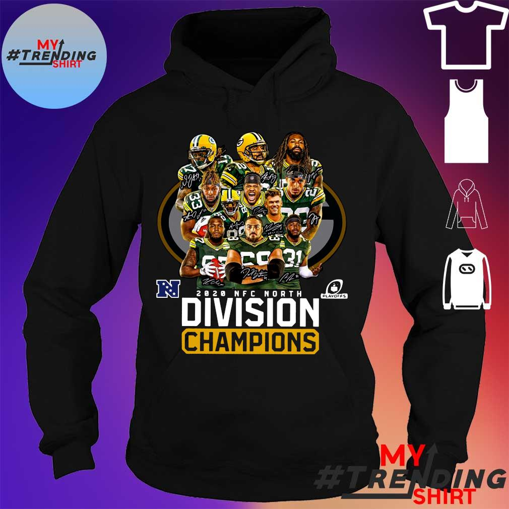 2020 nfc north division champions s hoodie