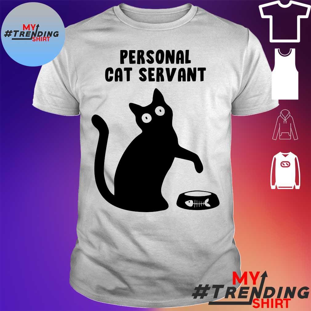 Black cat Personal cat servant shirt