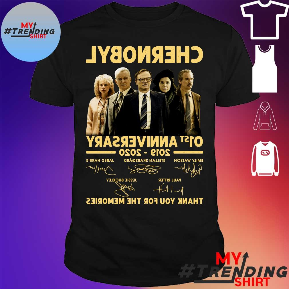 CHERNOBYL 01st anniversary 2019-2020 thank you for the memories shirt