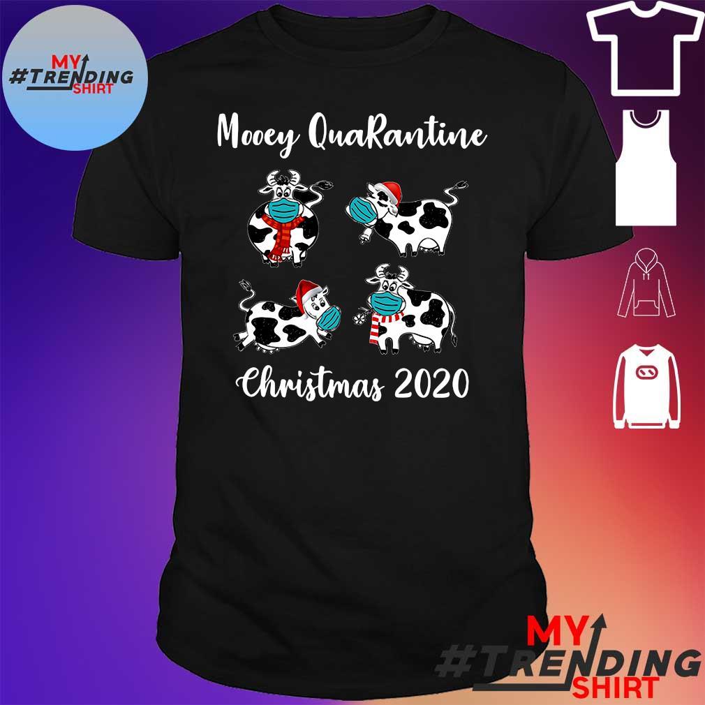 Cow Mooey Quarantine Christmas 2020 shirt