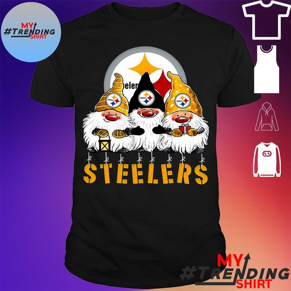 Gnomes Pittsburgh Steelers Christmas shirt