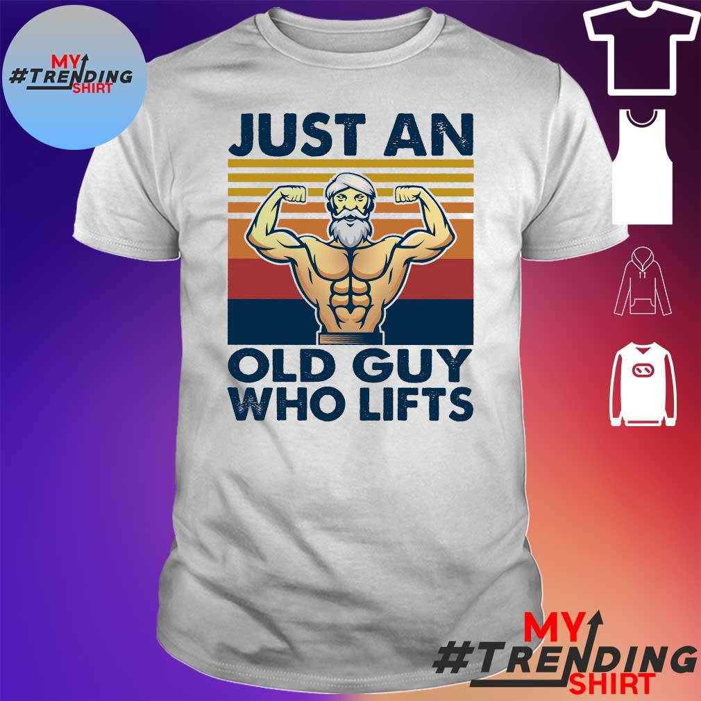 Just an old guy who lifts shirt