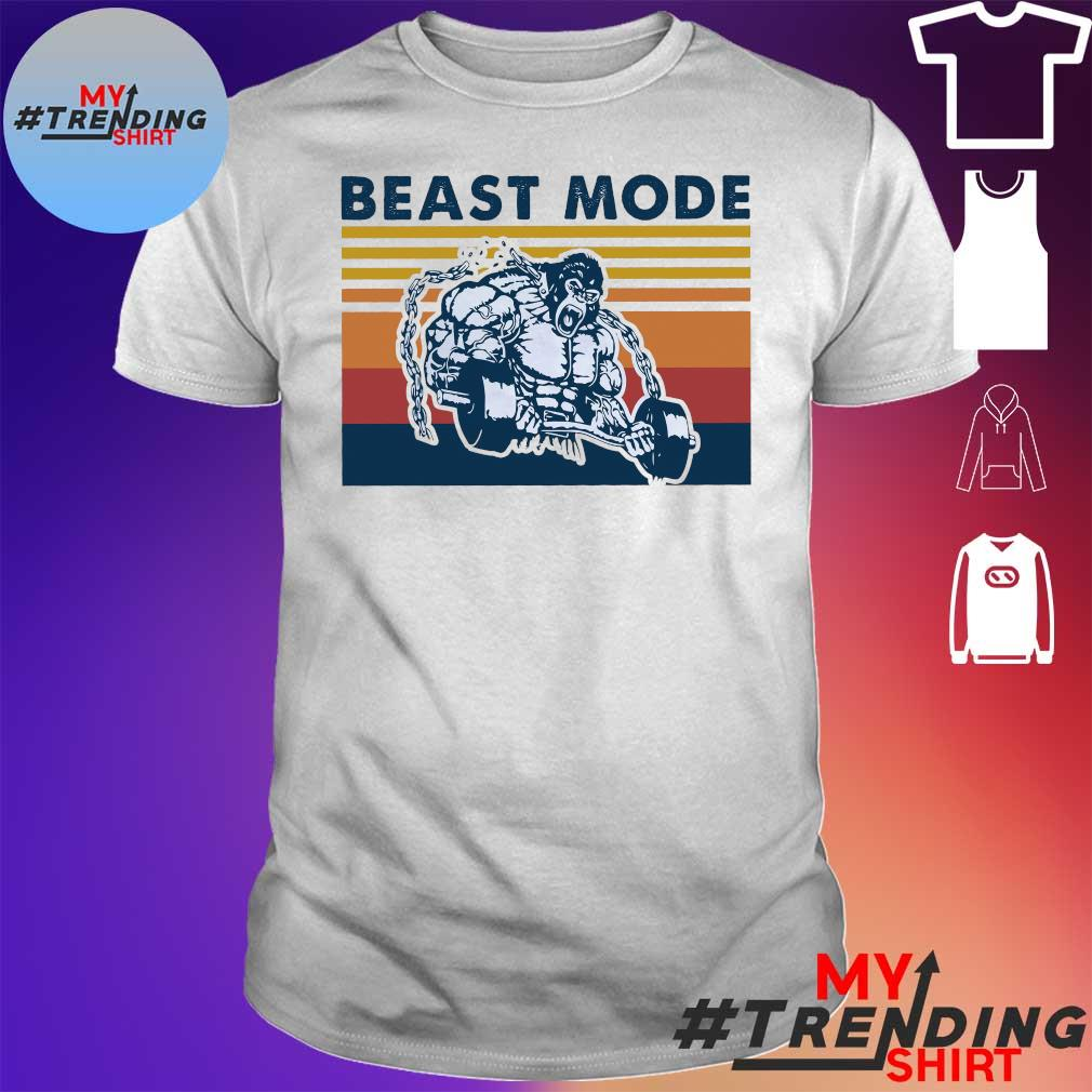 Bigfoot beast mode gym vintage shirt