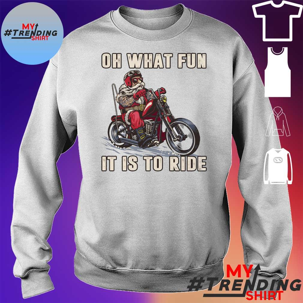 Oh what fun it is to ride s sweater